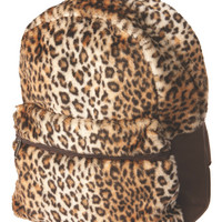 Animal Fur Backpack- Brown
