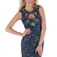 Scala Homecoming Dress 48364 at Peaches Boutique