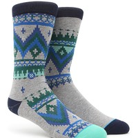 Stance Irie Isle Crew Socks - Mens Socks - Black - One