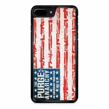 The Purge Anarchy Flag iPhone 8 Plus Case