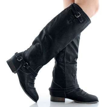 Outlaw-11 Riding Knee High Boots