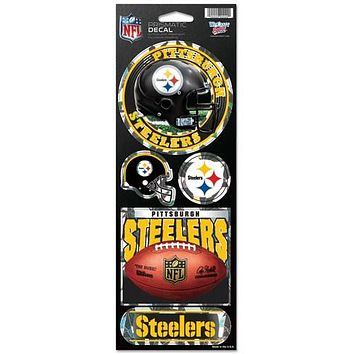 Pittsburgh Steelers Stickers Prismatic