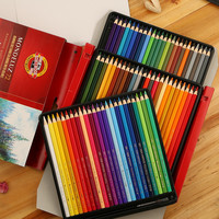 Koh-i-noor 72pcs Professional Water soluble Colored Pencils Non-toxic Pastel Sketching Pencil For Drawing Painting Art Supplies