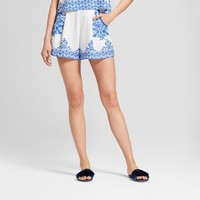 Women's Printed Soft Shorts - Xhilaration™ Blue