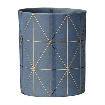 Grey & Gold Votive