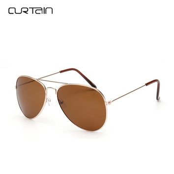 Curtain 2018 Retro Aviator Sunglasses Men Night Driving Glasses Vintage Colorful Women Brand Sunglasses Lunettes De Soleil Y3026