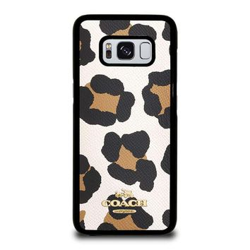 COACH NEW YORK COOKIE JAR Samsung Galaxy S8 Case Cover