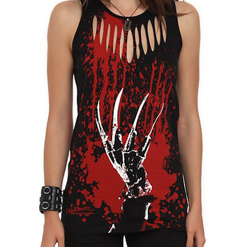 A Nightmare On Elm Street Slash Sweater Girls Tank Top | Hot Topic