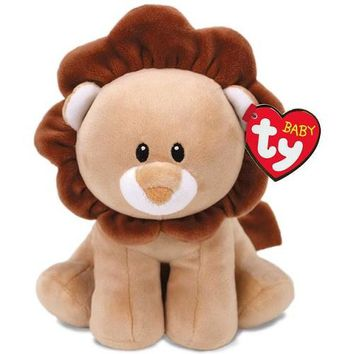"""Ty® Baby Ty Small Bouncer Lion Stuffed Animal, 6"""""""