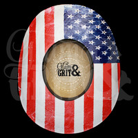 "Glam&Grit ""American Flag"" Hat"