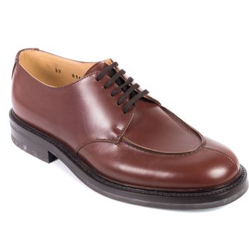 Church's Brown Leather Lace-Up Charlotte Oxfords