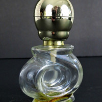 Vintage Perfume Bottle - Perfumes Galanos - 8 oz Bottle - Vintage Glass Bottles