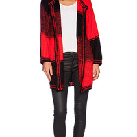 UNIF Kent Cardigan in Red