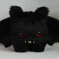 Wilson - BAT /Made to order/ Artist Teddy Bear - Handmade and OOAK - Decorative Doll