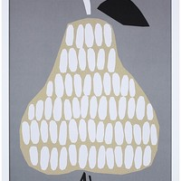 Pear Print by Tonje Holand and Ingrid Reithaug