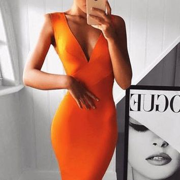 Lativia Bandage Dress(All Colors)