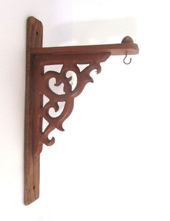 Vintage Carved Wood Brackets Ornate From Underlyingsimplicity