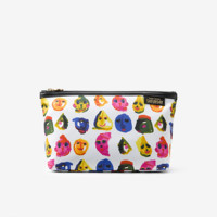Kate Spade Saturday Zip-top Cosmetic Pouch In Face Paint