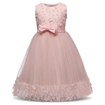 Fairy Princess Kids Prom Gowns Designs Dresses For Girls Party Wear Children Costumes Girl Ceremony Dress Teenage Girl Clothing