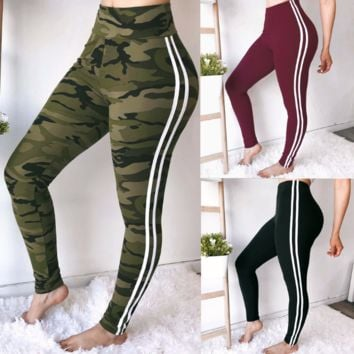 2018 Sexy Solid Color Sweatpants