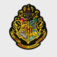 Hogwarts Embroidered Crest Patch