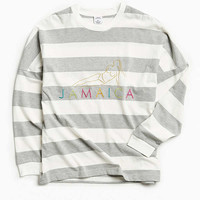 UO Jamaica Stripe Long Sleeve Tee | Urban Outfitters