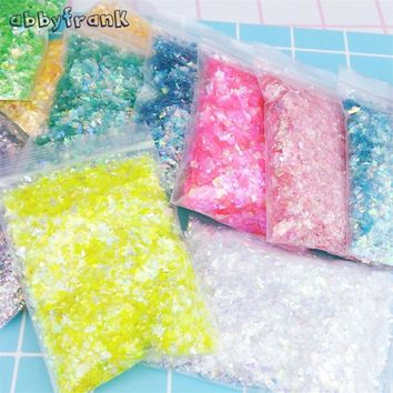 6 Packs/Set DIY Candy Paper Material For Slime DIY Accessories Arts & Crafts Toys 20g/Pack Colorful Candy Paper Gift Decoration