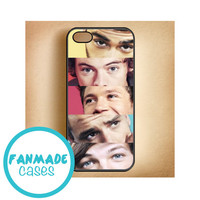 One Direction Eyes iPhone 4/4s 5/5s/5c & iPod 4/5 Rubber Case