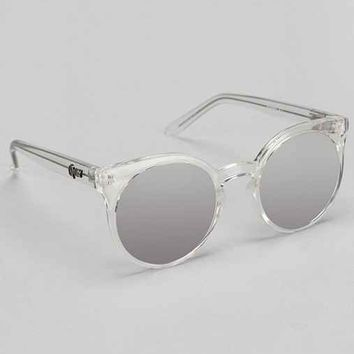 Quay Kosha Round Sunglasses- Clear One