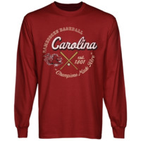South Carolina Gamecocks Winner's Circle Long Sleeve T-Shirt - Garnet