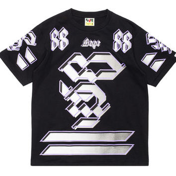 BAPE TEAM 88 SHIRT - BLACK | Undefeated