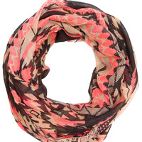 Summer Love Aztec Infinity Scarf - Pink