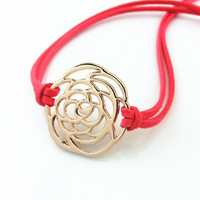 Gift Shiny New Arrival Great Deal Awesome Hot Sale Accessory Simple Design Stylish Gold Hollow Out Bracelet [4918897284]