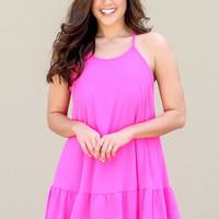 Back To Bows Dress in Pink | Monday Dress