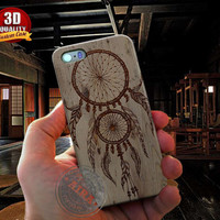 Dream Catcher Case, Wood for Iphone 4, 4s, Iphone 5, 5s, Iphone 5c, Samsung Galaxy S3, S4, S5, Samsung Galaxy Note 2, Note 3.