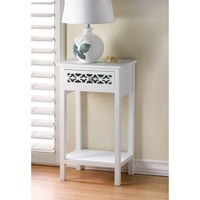Floral Diecut Side Table