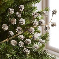 Frosted Pinecones Tree Pick