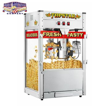 Popcorn Machine 12 oz 1350w 12oz Luxury Cinema Commercial Popper