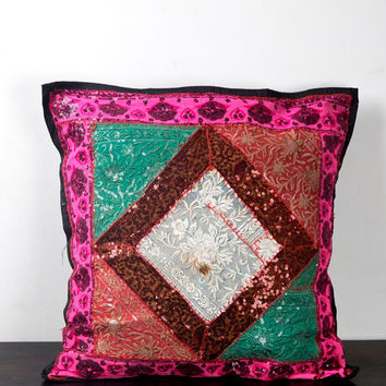 Kantha Cushion Covers, Kantha Pillow Cover, Cotton Cushion Covers, Cotton Pillow Covers