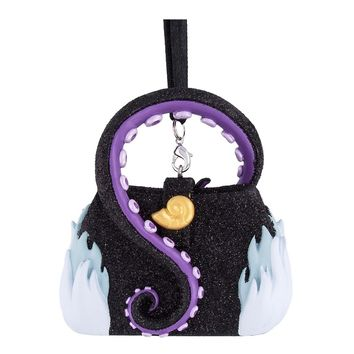 Disney Parks Ursula Purse Handbag Christmas Resin Ornament New with Tags