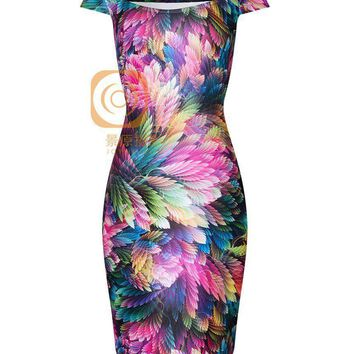 Women's Summer Dresses Party Pencil Dress