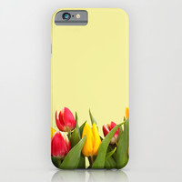 Tulips 2 iPhone & iPod Case by Haroulita