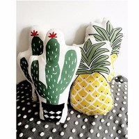 Pineapple or Cactus Shaped Pillow