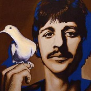 """Ringo Starr Poster Psychedelic 16""""x24"""""""