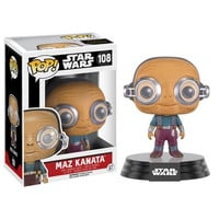 Maz Kanata Star Wars Force Awakens Bobble-Head Pop Vinyl Figure