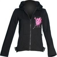 Friend of Misery - gothic girl's hoodie by Raven SDL