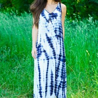 Let Your Hair Down Maxi Dress