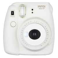 Fujifilm Instax Mini 8+ (Vanilla) Instant Film Camera + Self Shot Mirror for Selfie Use - International Version (No Warranty)