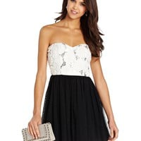 Speechless Juniors Dress, Strapless Sequin Rosette - Juniors Dresses - Macy's