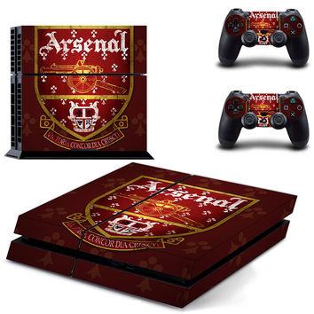 Arsenal FC skin for ps4 decal sticker console